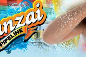"""Banzai Pipeline"" kommt 2020 nach Hurricane Harbor © Six Flags Hurricane Harbor Arlington"