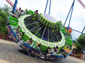 """Kryptonite Kollider"" © Six Flags New England"