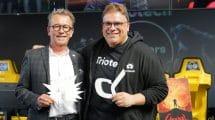 Links: Christophe Lucchini von der CL Corp Rechts: Ernest Yale von Triotech © Triotech