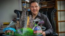 "David Williams freut sich bereits auf ""The World of David Williams"" © Alton Towers Resort"