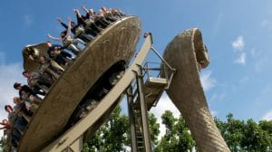 """Traust du dich auf die """"Kobra""""? © Chessington World of Adventures"""