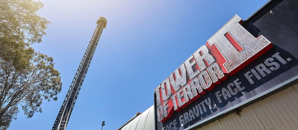 "Der imposante ""Tower of Terror II"" © Dreamworld Australia"