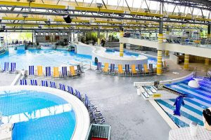 Ein Blick auf den Hauptbereich des Bades © Düsselstrand