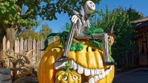 Der gesamte Freizeitpark Plohn ist zu Halloween wundervoll gestaltet. © Maik Rimpl / ThemePark-Central.de