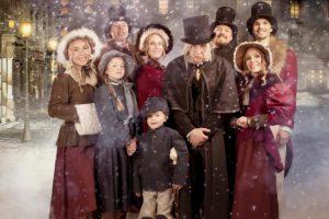 Das Ensemble der Eisrevue zu Weihnachten © Liseberg