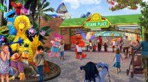 Hier wird der Spaß in Sesame Place San Diego beginnen © SeaWorld Entertainment