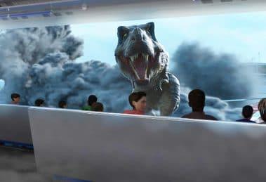 In der U-Bahn zu den Dinosauriern © Simworx