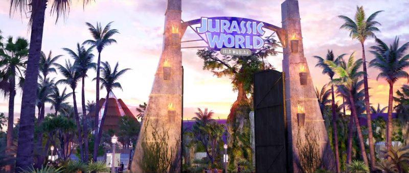 """""""Jurassic World: Isla Nublar"""" © Universal Studios Beijing"""