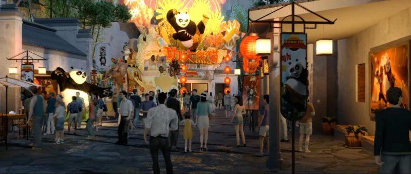 Zurück in das traditionelle China zusammen mit Kung Fu Panda © Universal Studios Beijing