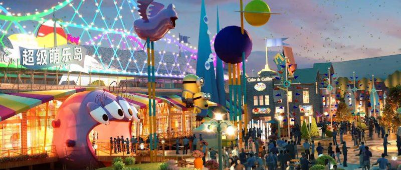 """Minions Land"" der Universal Studios Beijing © Universal Studios Beijing"