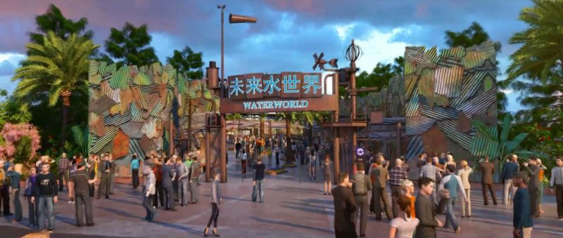 """WaterWorld"" kommt nach China © Universal Studios Beijing"