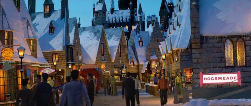 Was wäre ein neuer Universal Park ohne Harry Potter? © Universal Studios Beijing
