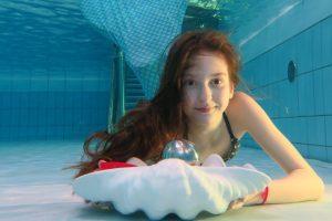 Einmal als Meerjungfrau durchs Wasser gleiten? Dies ist in Oberhausen nun möglich! © Aquapark Oberhausen