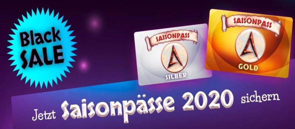 Sicher dir ein erlebnisreiches Jahr 2020! Die Belantis Jahreskarte Gold und Silber sind derzeit im Angebot © Belantis
