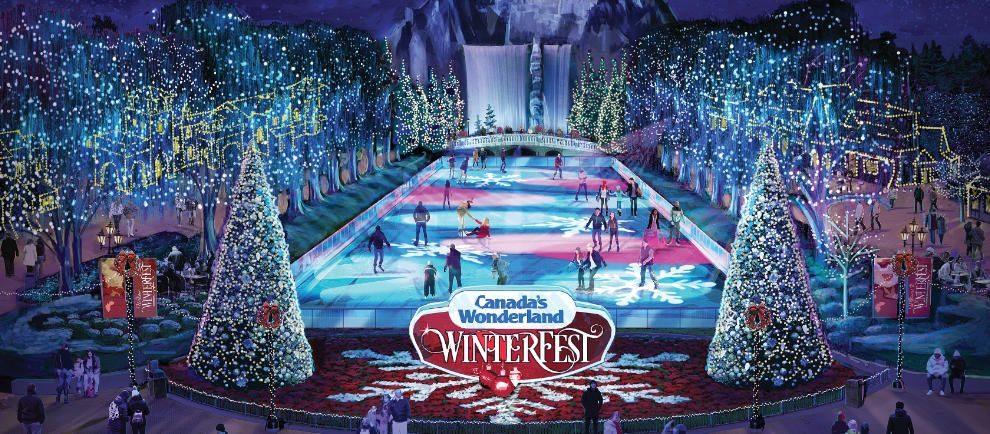 """Tauche in die weihnachtliche Welt im """"WinterFest"""" ein © Canadas Wonderland"""