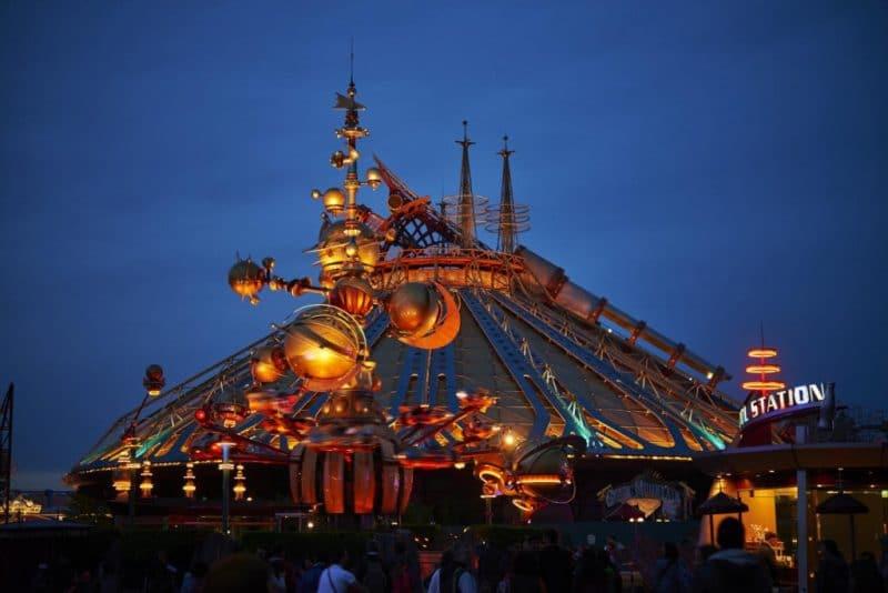 """Space Mountain"" © Disneyland Paris"
