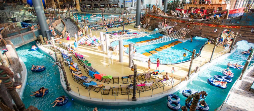 In Rulantica warten neun thematisierte Bereiche auf die Besucher © Europa-Park Resort