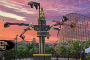 "So wird ""Dare Devil Dive Flying Machines"" fertig aussehen © Six Flags Fiesta Texas"