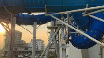 """AquaSpinnera"" im Aquapark Reda, das erste ""SlideWheel"" von Wiegand Waterrides in Europa. © Aquapark Reda"