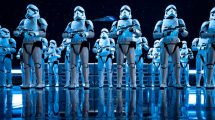 "Unmengen Sturmtruppen erwarten die Besucher in ""Star Wars: Rise of the Resistance"" © Disney"