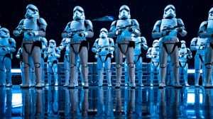 "Unmengen Sturmtruppen erwarten die Besucher in ""Star Wars: Rise of the Resistance"" © Disney"