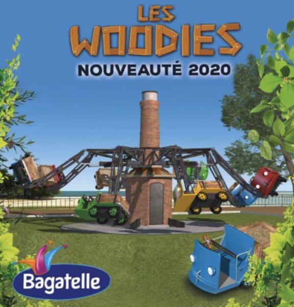 """So wird """"Les Woodies"""" fertig aussehen © Parc Bagatelle"""