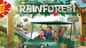 """Ab in den Regenwald! Das """"Rainforest Land"""" lässt Euch zu Ranger werden! © Chessington World of Adventures"""