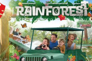 "Ab in den Regenwald! Das ""Rainforest Land"" lässt Euch zu Ranger werden! © Chessington World of Adventures"