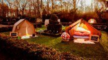 Einmal neben Schneewitchen und Aschenputtel schlafen? Diesen Traum ermöglicht der Freizeitpark Efteling in diesem Sommer. © Freizeitpark Efteling