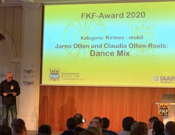 Auch in diesem Jahr wurden die FKF Awards vergeben © FKF