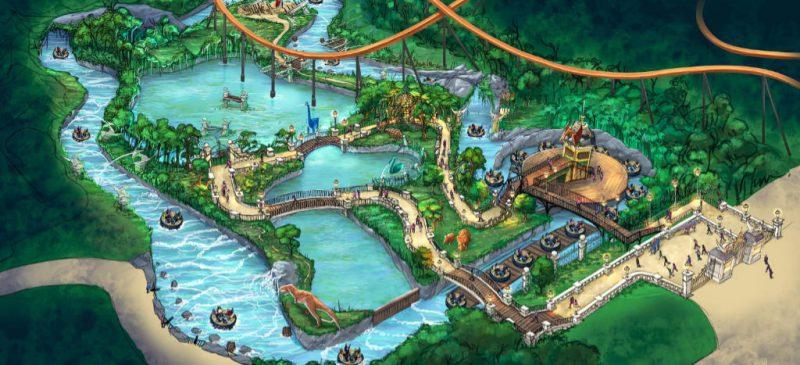holiday park dino splash konzept