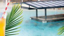 Entspannung pur in der Relax Lagune samt Pool-Bar © Kristall Palm Beach