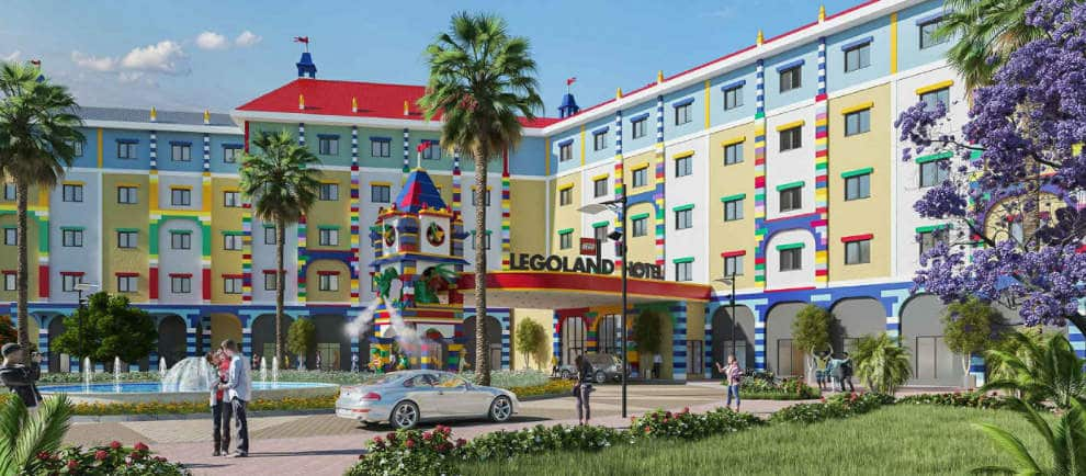 So wird das erste Legoland Hotel im Nahen Osten aussehen © Dubai Parks and Resorts