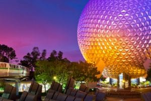 """Spaceship Earth"" in der Walt Disney World © Disney"