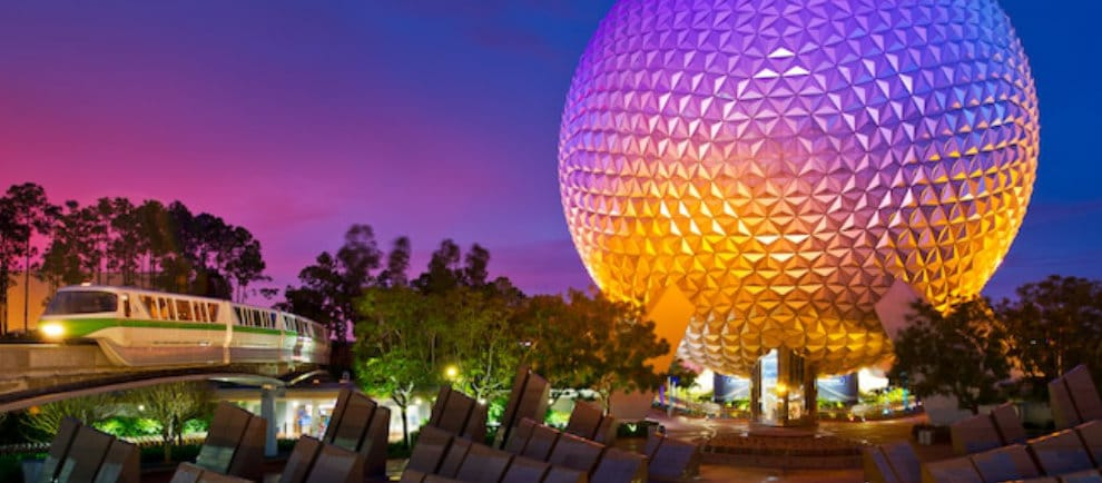 """Spaceship Earth"" in der Walt Disney World © Disney"