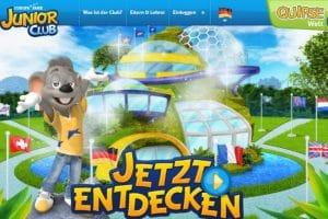 Auf der Website von dem Europa-Park JUNIOR CLUB, erwarten Euch spannende Inhalte zu jeder Zeit. © Europa-Park Resort