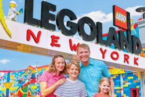 Großer Familienspaß für die ganze Familie! © Legoland New York