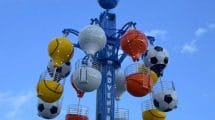 """Mit """"Air Balloon"""" können die Besucher auf 20 Meter Höhe einen tollen Ausblick genießen. © SBF Visa"""