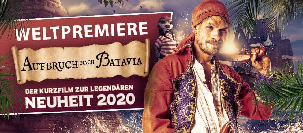 """Weltpremiere von """"Aufbruch nach Batavia"""" © Europa-Park Resort"""
