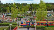 Im Herzstück des LEGOLAND Parks, dem LEGO MINILAND, ist sogar bereits eine Reise in die Schweiz, die Niederlande oder nach Venedig möglich. © Legoland Deutschland Resort