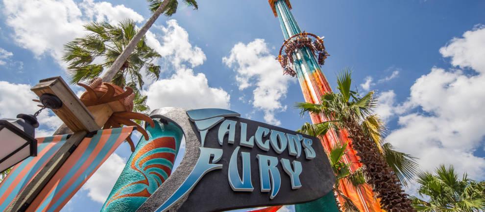 Falcon's Fury © Busch Gardens Tampa