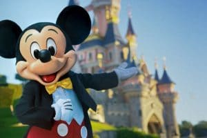Mickey freut sich auf Euch! © Disneyland Paris