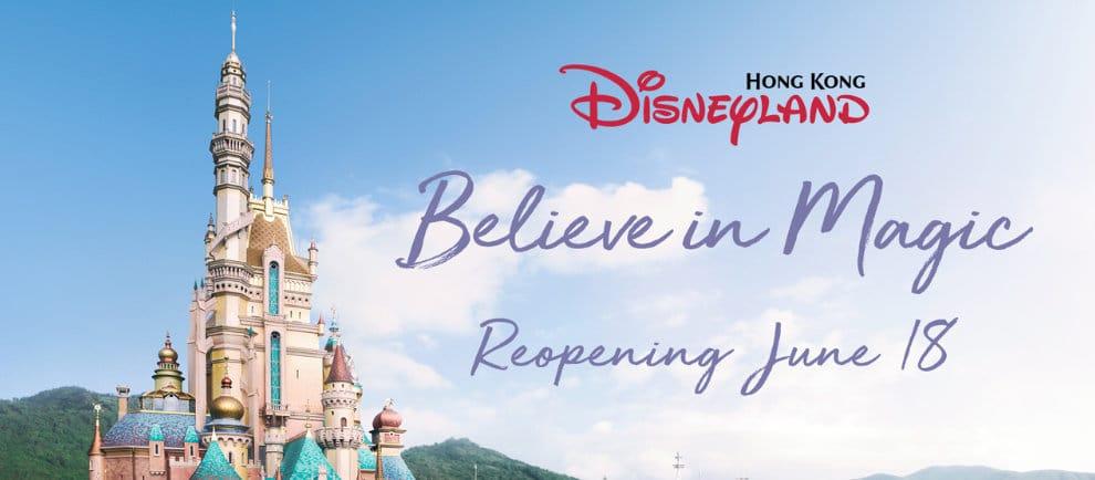 Hong Kong Disneyland darf bald wieder Gäste begrüßen © Disney