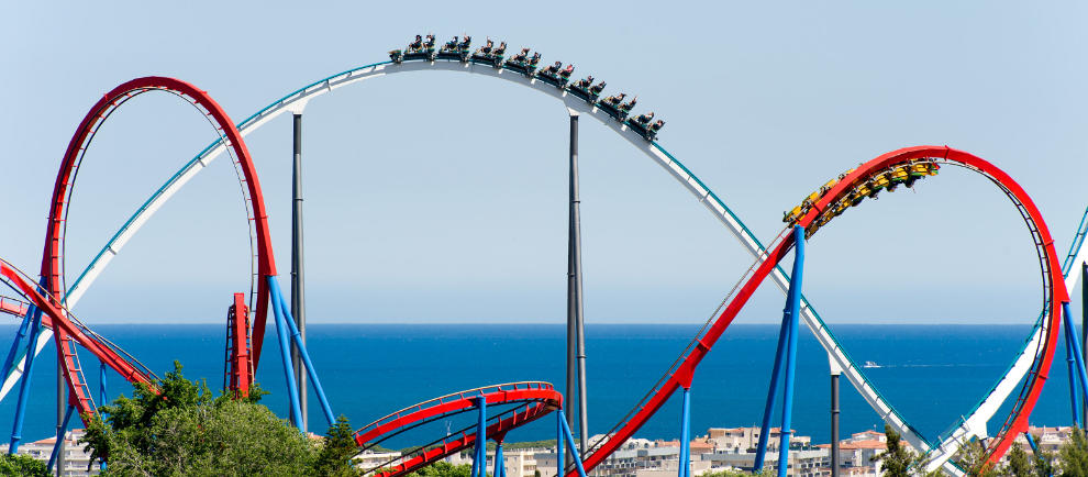 portaventura world shambala dragon khan