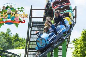 Achterbahnspaß im Familienpark Mondo Verde © Familienpark Mondo Verde