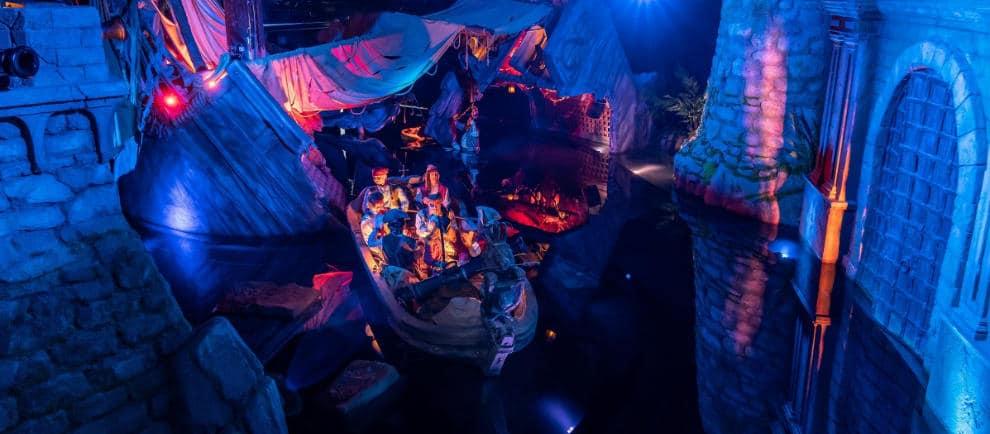 Die Bootsfahrt beinhaltet ein Wiedersehen mit acht Piraten aus der ehemaligen Attraktion. © Europa-Park Resort