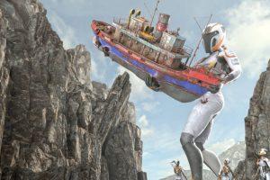 """""""Mission Rulantica"""" wird die weltweit erste YULLBE Attraktion werden. © VR Coaster / MackNext"""