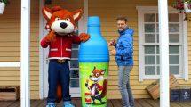 Funny Fux und Fort Fun Abenteuerland Geschäftsführer Andreas Sievering machen es bereits. © Fort Fun Abenteuerland