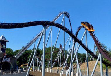 """""""Candymonium"""" ist über 1.400 Meter lang und über 120 km/h schnell. © Hersheypark"""