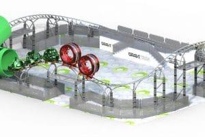 Das Ravensburger Spieleland plant 2021 eine Gravitrax Achterbahn zu eröffnen. © Ravensburger Spieleland